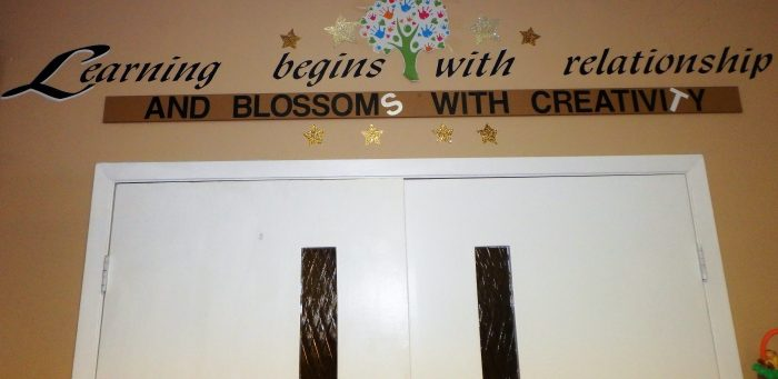 Learning begins with relationships... And blossoms with creativity!